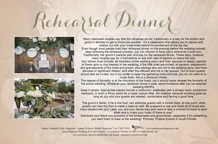 Rehearsal Dinner Article - 7 on 27th