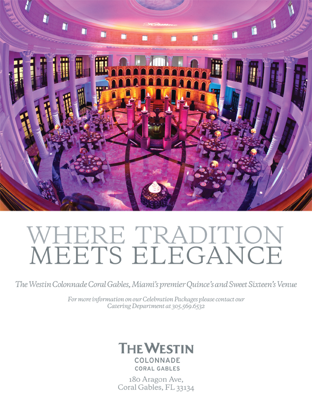 The Westin Colonnade Hotel in Coral Gables