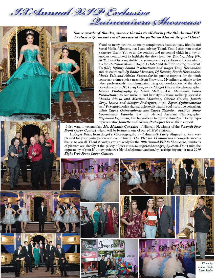 Anmar Party Magazine #33 Edition - IX VIP Quince Show Social Event and more