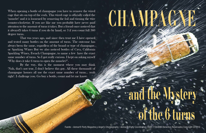 Champagne & the mystery of the 6 turns